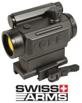 SWISS ARMS RED DOT 'MICRO T1' AUTO ADAPTIVE DOT SIGHT ATTACCO RAPIDO