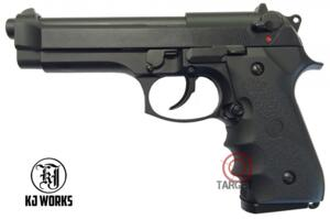 KJ-WORKS M9 BLACK SCARRELLANTE