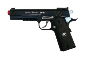 C1911 CO2 COMBAT SPORT SEMI SCARRELLANTE FULL METAL