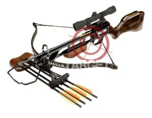 BALESTRA JAGUAR XBOW LEGNO NEW MODEL SNIPER