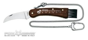 FOX MUSHROOM KNIFE RICHIUDIBILE PALISSANDRO