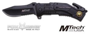 FOX MTECH USA RESCUE BLACK MC-MT-592SF