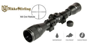NIKKO STIRLING MOUNTMASTER 6X40 AO MILDOT