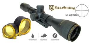 NIKKO STIRLING GOLD CROWN AIR 4X32 AO MIL DOT