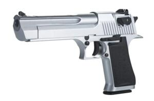 KWC DESERT EAGLE CO2 FULL METAL SILVER
