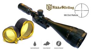 NIKKO STIRLING GOLD CROWN AIR 4,5-14X50 AO MIL DOT