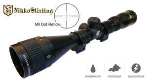 NIKKO STIRLING MOUNTMASTER 3-9X40 AO MILDOT
