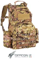 DEFCON 5 ZAINO MILITARE PATROL BACKPACK 900 POLY VEGETATO ITALIA