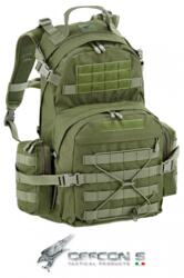 DEFCON 5 ZAINO MILITARE PATROL BACKPACK 900 POLY GREEN MILITARY