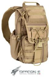 DEFCON 5 ZAINO MILITARE TACTICAL SINGLE SHOULDER BAG COYOTE TAN