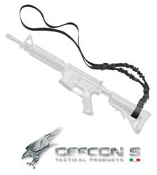 DEFCON 5 CHINGHIA PER ARMI LUNGHE MILITARE TACTICAL ASSAULT SLING LARGE BLACK