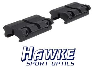HAWKE SLITTA ADAPTER 2pz - DA 11mm A WEAVER