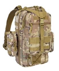 DEFCON 5 ZAINO MILITARE TACTICAL ONE DAY BACK PACK MULTICAMO - NEW MODEL !!!