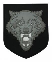 PATCH - WOLF PATCH - GREY