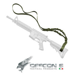 DEFCON 5 CHINGHIA PER ARMI LUNGHE MILITARE TACTICAL ASSAULT SLING LARGE GREEN MILITARY