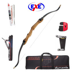 ARCO RICURVO EXE IN LEGNO - FULL KIT ARCHERY !!!