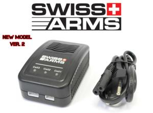 SWISS ARMS CARICA BATTERIE LIPO PROFESSIONALE NEW