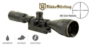 NIKKO STIRLING GOLD CROWN AIR 3-9X42 AO HALF MIL DOT