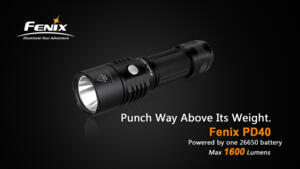 FENIX PD40 LED FLASHLIGHT
