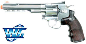 REVOLVER CO2 6  FULL METAL NIKEL