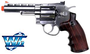 REVOLVER CO2 4  FULL METAL NIKEL
