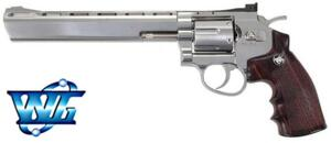 REVOLVER CO2 8 FULL METAL NIKEL