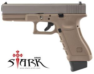 STARK ARMS S17 COMBAT CO2 TITANIUM SUPER GRADE TAN