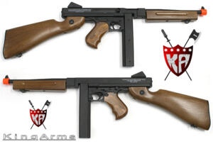 KING ARMS THOMPSON 1928 M1A1 FULL METAL