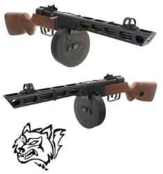 SNOW WOLF PPSH EBB BLOW-BACK FULL METAL LEGNO-HD