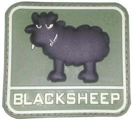 PATCH - BLACK SHEEP - GREEN MILITARY