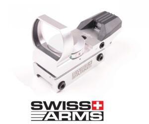 SWISS ARMS RED DOT MULTIRETICOLO SILVER