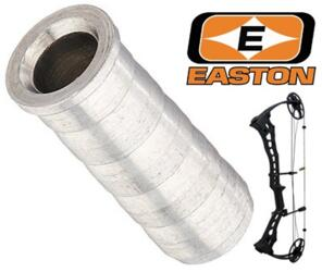 EASTON INSERTO PER FRECCIA ARCO FILETTATO IN METALLO mod. 2018