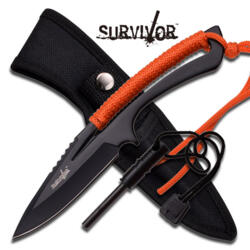 M-TECH SURVIVOR FIXED BLADE ORANGE HK-767OR