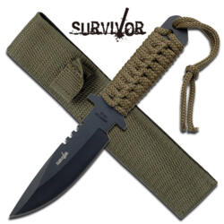 M-TECH SURVIVOR FIXED BLADE GREEN HK-1033