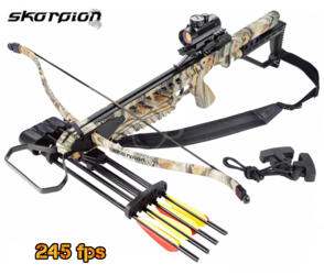 BALESTRA SKORPION XBR-200 CAMO 175lbs 245fps FULL KIT
