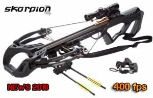 SKORPION BALESTRA GUILLOTINE-X BLACK 400fps FULL KIT ANTEPRIMA 2016