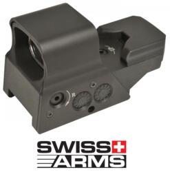 SWISS ARMS RED DOT MULTI-REFLEX ATTACCO RAPIDO RICARICABILE