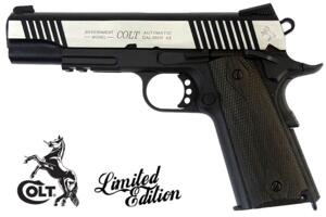 COLT GOVERNAMENT 1911 RAIL DUAL-TONE C02 FULL METAL
