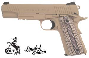 COLT 1911 mod. M45A1 RAIL TAN C02 FULL METAL