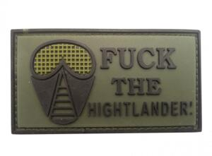 PATCH - FUCK THE HIGHLANDER - GOMMATA