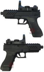 CYMA G18C ELETTRICA RAIL + RED DOT