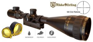 NIKKO STIRLING GOLD CROWN AIR 4,5-14X50 AO MIL DOT ILLUMINATED