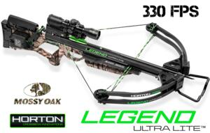 HORTON BALESTRA LEGEND ULTRA LITE 330 fps MOSSYOAK - NEW 2016