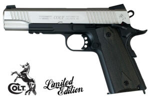 COLT GOVERNAMENT 1911 RAIL SINGLE-TONE C02 FULL METAL
