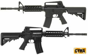 CYMA M4A1 RAS BLACK FULL SET
