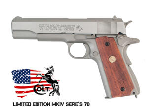 COLT'S MK IV / SERIE'S 70 GOVERNMENT LIMITED EDITION CO2