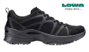 LOWA SCARPA TACTICAL INNOX GTX LO TF BLACK