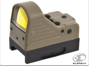 ELEMENT MINI RED DOT OLOGRAFICO MRDS TAN