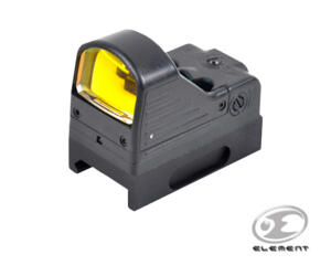 ELEMENT MINI RED DOT OLOGRAFICO MRDS NERO