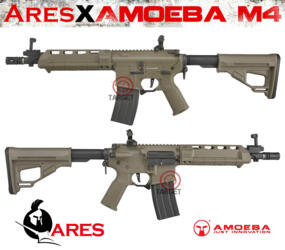 ARES AMOEBA X M4 SHORT MHS SYSTEM DARK EARTH